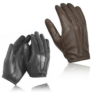 """Protect anti slash fire resistant leather """"made with Kevlar"""" gloves security SIA"""