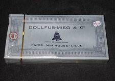 AC350 DMC DOLLFUS-MIEG & Cie RETORS A BRODER 12 ECHEVEAUX 2930 COTON CANEVAS NB