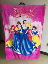 cute princess all stand coral fleece blanket rug soft quilt nap quilts warm
