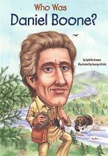 Who Was Daniel Boone?: By Sydelle Kramer