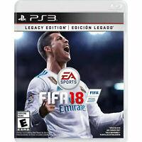 Fifa 18 Legacy edition ( Playstation 3 / PS3 )