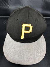 MLB Pittsburgh Pirates New Era 59Fifty baseball cap, Size 7 1/4, FREE S&H