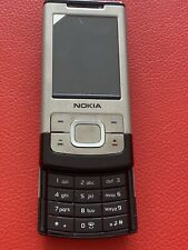 Nokia 6500 Slide Silver NEW Original Unlocked
