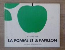 LA POMME ET LE PAPILLON lutin poche de l'école des Loisirs 1985