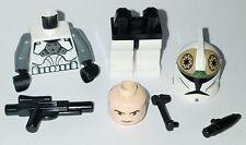LEGO Star Wars AT-TE CLONE TANK GUNNER Minifigure Trooper 8014