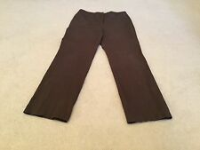 CHICOS Women's Brown khaki career pants Size 2