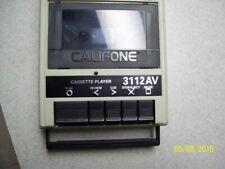 Califone 3112AV Cassette Player 120v Quality Vintage