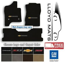 Chevrolet Tahoe - 3pc Classic Loop Carpet Floor Mat Set - Choose Color & Logo