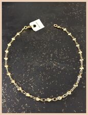 Chain Ankle Small Hearts Gold Plated Jewelry New