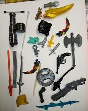 Vintage Action Figure Weapons And Accessories or Parts 80's 90's (8)