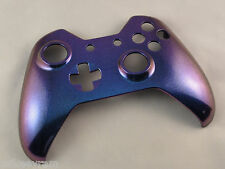 Blue and Purple Chameleon, Front Shell For Xbox One Controller - New