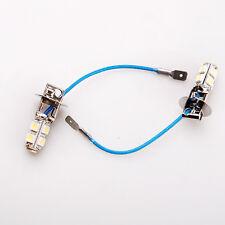 2 x H3 9SMD LED 12V Cree Car LED Fog Light Turn Signal Headlight Tail Lamp White