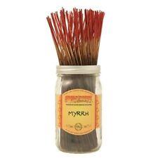 Wildberry Myrrh Incense 10 sticks Amber Patchouli Floral Free Shipping Usa
