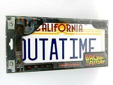 Retour vers le Futur plaque CALIFORNIA OUTATIME 30 x 15 cm doctorcollector