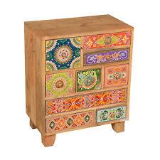 Oriental Dresser Mango Solid Wood Drawers Sideboard Night Table Krishna