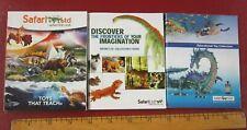 Safari Limited complete inventory mini catalogs 2008, unknown, and 2019