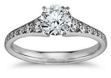 1.94ct Brilliant cut Engagement Ring Antique for Ladies in 14kt Solid White Gold