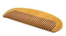 Thai Natural Handle Wood Comb Hair Care Head Care Massage Hand Carved