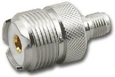 SMA to SO239 Adapter - female SMA to female PL259