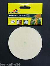 Anti Rattle Strip Adhesive Foam 10mm x 2 metre roll