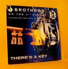 cardsleeve single CD 2 BROTHERS ON THE 4TH FLOOR There's A Key 2TR '96 eurodance