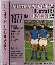 """ALMANACCO ILLUSTRATO DEL CALCIO 1977 PANINI=LA """"BIBBIA"""" DEL CALCIO ITALIANO"""