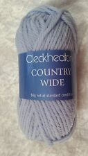Cleckheaton Country Wide #0014 Cloud Blue 50g Pure Wool