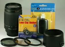 Nikon 70-300mm LENS KIT 70-300 For D200 D80 D70S  D50 D60 D70 D100 D3 + Filteres