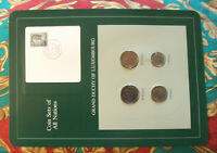 Coin Sets of All Nations Luxembourg w/Card 1980 - 1983 UNC 10F STAMP 5 Franc 81