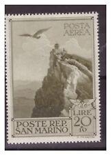 SAN MARINO 1944 -  PRO CASE POPOLARI  POSTA AEREA    NUOVO  *