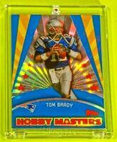 Topps Hobby Masters Tom Brady Patriots Jersey Sweet Rare Rainbow Refractor TB12