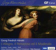 Peter Neumann, Les L - L'allegro / Il Penseroso Ed Il Moderato [New CD]