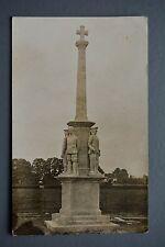 R&L Postcard: Military, War Memorial East Brent Somerset