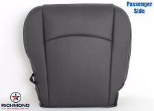2013-2018 Dodge Ram Laramie Sport-Passenger Side Bottom Leather Seat Cover Black
