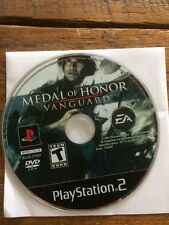 Medal of Honor: Vanguard PlayStation 2 PS2 Shooter Video Game DISC ONLY Lot 1