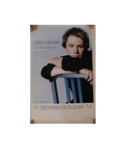 Clay Aiken Poster Debut Album