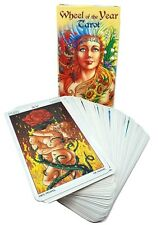 Wheel of the Year Tarot Oracle Deck Pagan Wiccan Cards Divination in 5 Languages