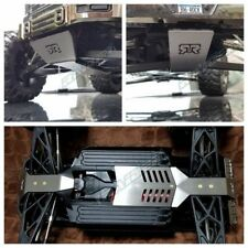 Arrma Big Rock Stainless Steel Skid Plate Front Middle Rear Chassis Armor 3pcs
