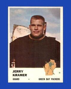 1961 Fleer Set Break # 95 Jerry Kramer EX-EXMINT *GMCARDS*