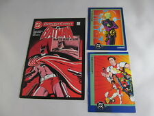 DC Comics 1993 cards Legionnaires 19 Brainiac 5 93, Batman 2010 postcard 546