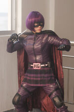 New Top Quality Kick-Ass Kick Ass 2 Hit-Girl Hit Girl Cosplay Costume XS-XL