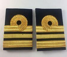 Gold Lace Rank Slides, RN, Royal Navy Lieutenant Commander, Liet Military, 867