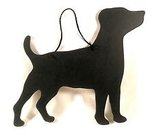 """Jack Russell Terrier Dog Gift -Unique 12"""" Handmade Dog Breed shaped Chalkboard"""