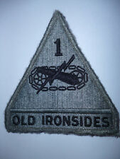 "US ARMY 1ST ARMOURED DIVISION ""OLD IRONSIDES"" PATCH"