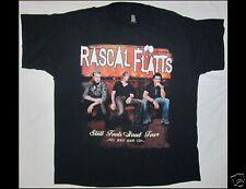 Rascal Flatts Still Feels Good Tour 2007 2008 Size Large Black T-Shirt