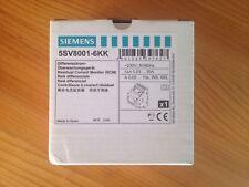 SIEMENS RESIDUAL CURRENT MONITOR DIGITAL 5SV8001-6KK RELE DIFERENCIAL RGU-10