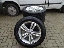 Original VW Tiguan II Alufelgen Pirelli Winterreifen 235/55R18 DOT16 5mm RDKS