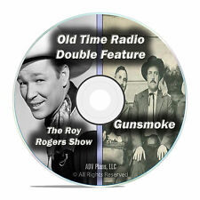 Roy Rogers & Gunsmoke, ALL 603 Known Full Episodes, Old Time Radio MP3 DVD F63