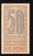 Croatia, 50 banica 1942 NDH