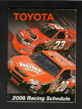 Toyota Racing--2008 Pocket Schedule